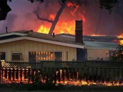 Ученые ищут связь между тихоокеанскими наводнениями и пожарами в США