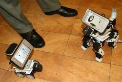 Робот с использованием интернет-девайса Nokia N800 (видео)