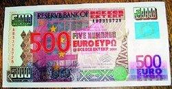 Аферисты расплачивались в бутиках векселями Зимбабве, выдавая их за новые евро