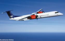 Авиакомпания SAS запретила эксплуатацию Q400