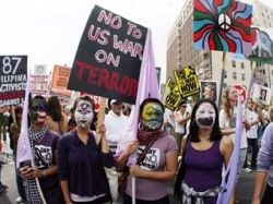 В Сан-Франциско прошла многотысячная антивоенная демонстрация