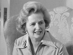 """Маргарет Тэтчер казалась американцам \""""типичной провинциальной матроной\"""""""