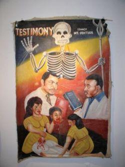 Плакаты к нигерийским фильмам ужасов (фото)
