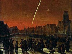 Возможно возвращение великой кометы 1680 года?