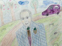 МГЕР уличили в вымогательстве детских рисунков к юбилею Путина