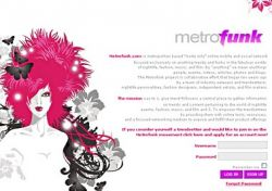 Metrofunk - социальная сеть для трендсеттеров