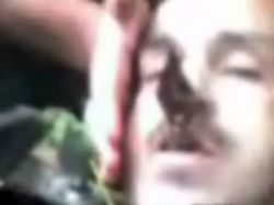 Пьяный мужчина проткнул себе голову кладбищенской оградой (видео)