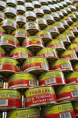 В Росии фиксируют ажиотажный спрос на продукты