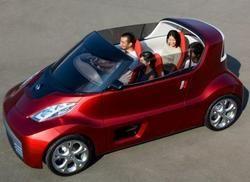 Создан концепт автомобиля для молодежи Nissan Round Box