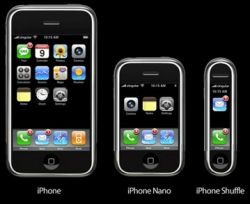 iPhone nano: фотографии и слухи