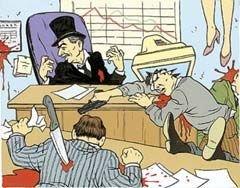 Как клерки воюют с работодателями?