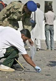 Террорист-смертник привел в действие взрывное устройство близ резиденции Первеза Мушаррафа