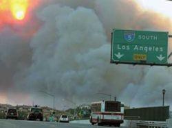 Пожар в Калифорнии устроил мальчик со спичками