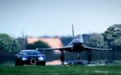 Эксперимент Top Gear: Bugatti Veyron против Самолёта (видео)