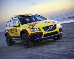 Volvo представил новинку - Volvo XC70 Surf Rescue Concept