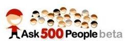 Ask500People - еще одна реализация социальных сервисов ответов