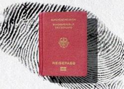 В немецкие загранпаспорта внесут отпечатки пальцев