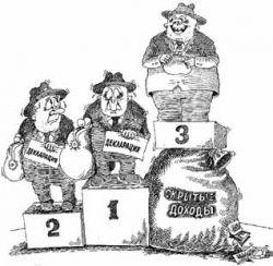 Сведения об имуществе и доходах кандидатов в депутаты за 2006 год