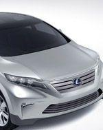 На токийском автошоу презентован новый концепт Lexus LF-Xh