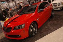Рэппер 50 Cent презентовал эксклюзивную авторскую модель Pontiac G8 (фото)