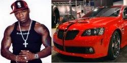 Рэппер 50 Cent презентовал эксклюзивную авторскую модель Pontiac G8 (видео)