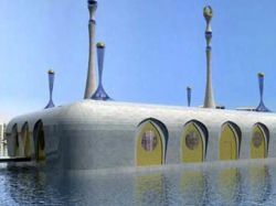 Голландец Коэн Олтуис построит в Дубае четыре плавучие мечети
