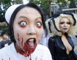 Хэллоуин: фотографии с костюмированных вечеринок (фото)