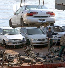 Утилизация автомобилей в России экономически невыгодна