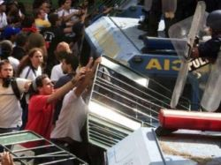 В Венесуэле разогнана демонстрация протеста против Уго Чавеса
