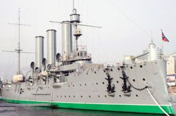 """Легендарный крейсер революции \""""Аврора\"""" пустили на стройматериалы"""