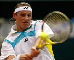 Давид Налбандян не пустил Роджера Федерера в 1\\4 финала теннисного турнира серии мастерс в Париже