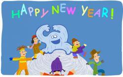 Новогодняя флэшка: Зажигательные танцы с Йети