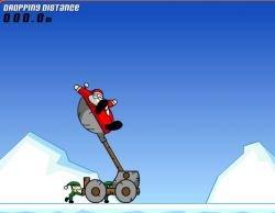 Новогодняя флэшка: Кто кинет дальше деда Мороза?