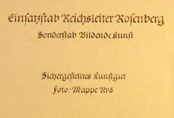 Найдены каталоги реквизированного нацистами искусства