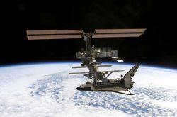 На МКС сломалась батарея. Экипаж вышел в открытый космос