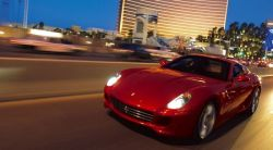 Ferrari 599 GTB Fiorano главы Fiat Серджио Маркионне разбита в ДТП