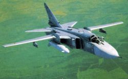 Грузия обнаружила в своем небе российские бомбардировщики Су-24