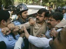 До 700 человек арестованы во время акций протеста Пакистане