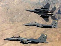 ВВС США запретили полеты истребителей F-15