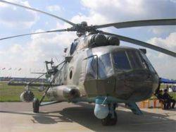 Российский Ми-8 в Либерии был сбит