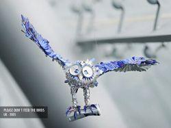 Креативные фигурки, созданные из банок Red Bull (фото)