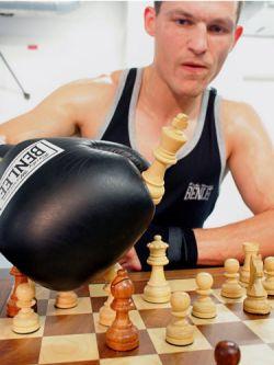 Шахбокс (Schachboxen) — новый вид спорта (видео)