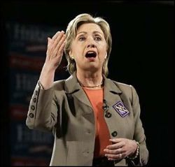 Кандидат в Президенты Хиллари Клинтон отказала журналу Vogue в интервью