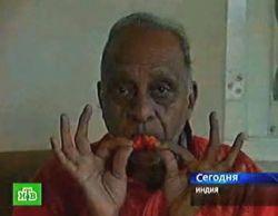 Житель Индии съел 500 перцев чили за 4 часа (видео)