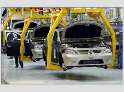 Производство автомобилей в РФ выросло на 9,7%