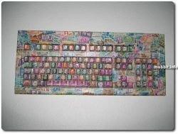 Потрясающие клавиатуры из марок (фото)