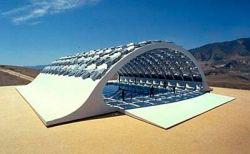 Крыша с ветряными генераторами Wind Shade Roof архитектора Михаэля Янцена