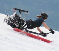 Hangboard - новый вид сноубординга (фото)