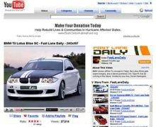 BMW начала размещать свою рекламу в социальных сетях