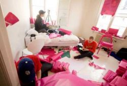 Pink Project – розовая квартира для друга (фото)